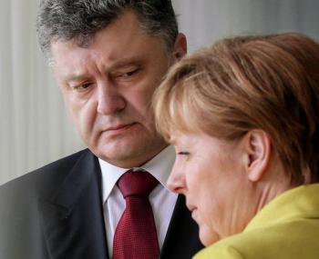 Заявление Ангелы Меркель по Донбассу поставило в сложное положение Петра Порошенко