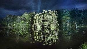 Стрит-арт в амазонских лесах