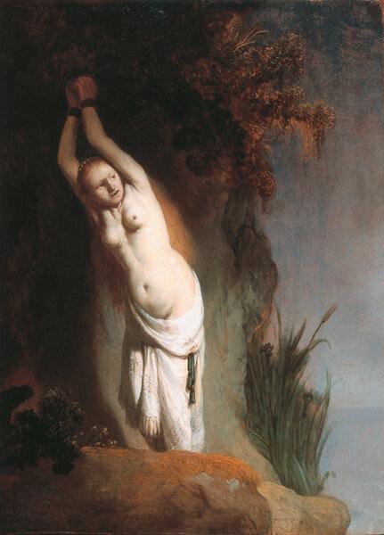 Андромеда — Рембрандт, ок. 1630 (Маурицхёйс, Гаага)