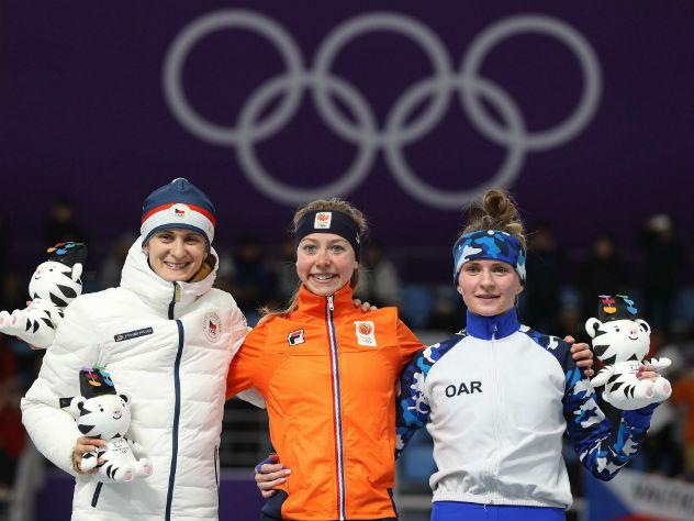 Россияне завоевали третью за день медаль Олимпиады