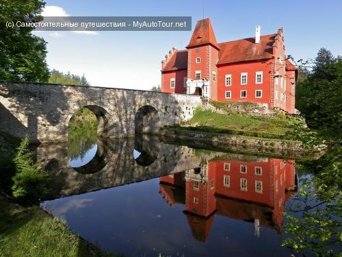 Червена Лгота - средневековый замок в Южной Чехии