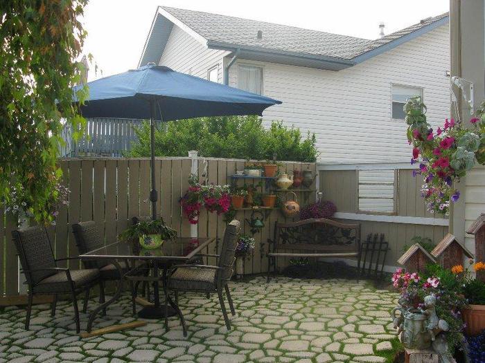 Украшение двора в частном доме фото