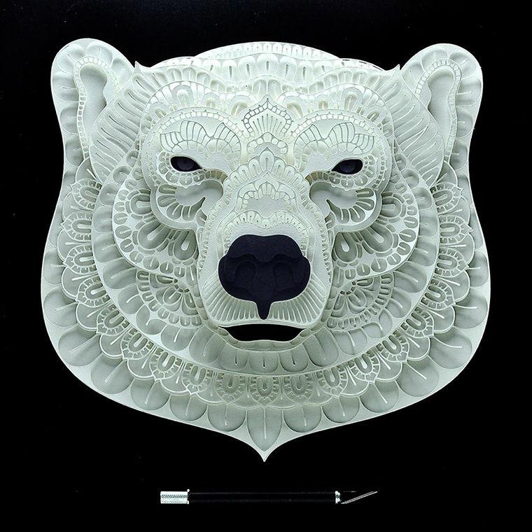 В мире бумажных животных: редкие виды в работах Patrick Cabral