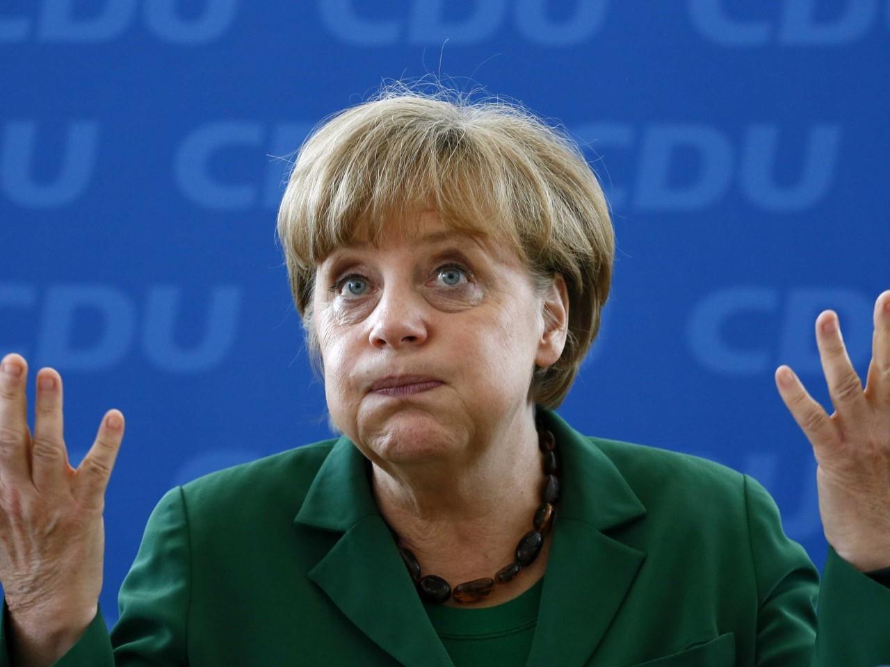 У Меркель считают, что украинские депутаты сошли с ума