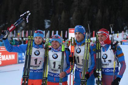 Исполком IBU отказался дисквалифицировать сборную России по биатлону