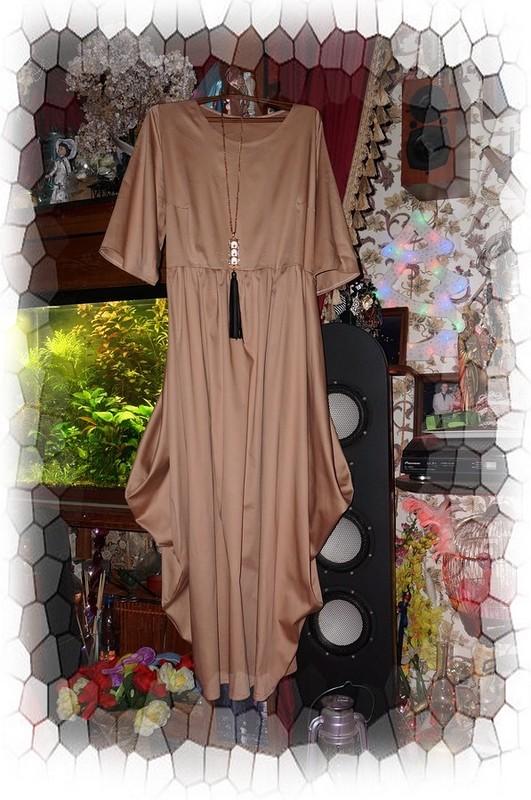Бохо платье из сатина