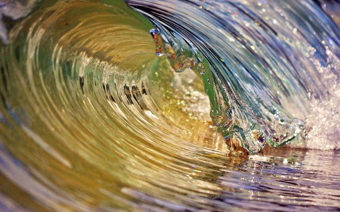 Море в движении (16 фото)
