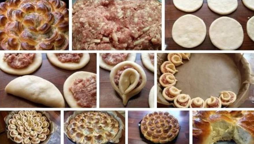 Виды пирогов из дрожжевого теста пошагово