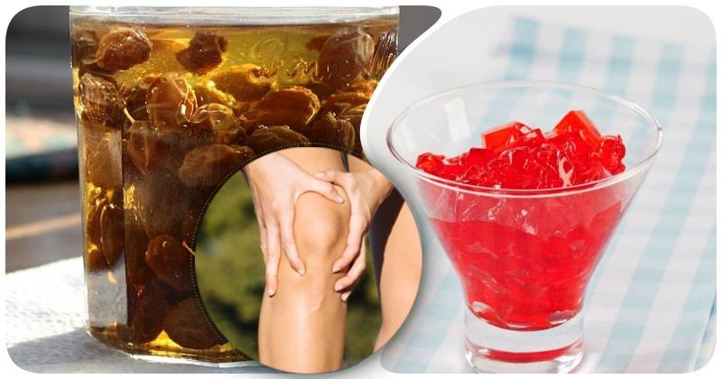 Изюм на джине и вишневое желе от боли в коленях: 10 целительных методов облегчить страдания