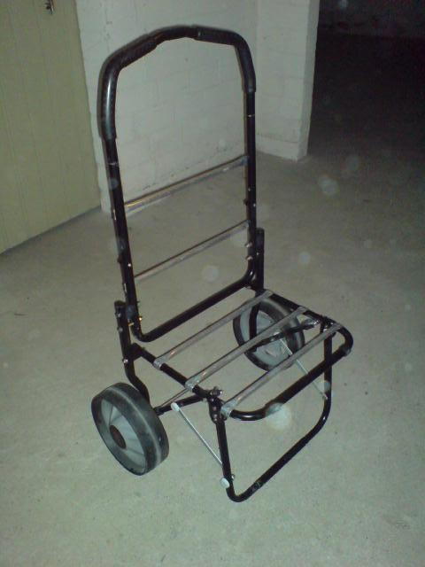 Как сделать из тележки коляску
