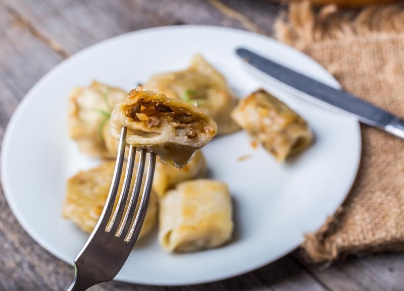 Вареники с капустой: просто, а самое главное, вкусно