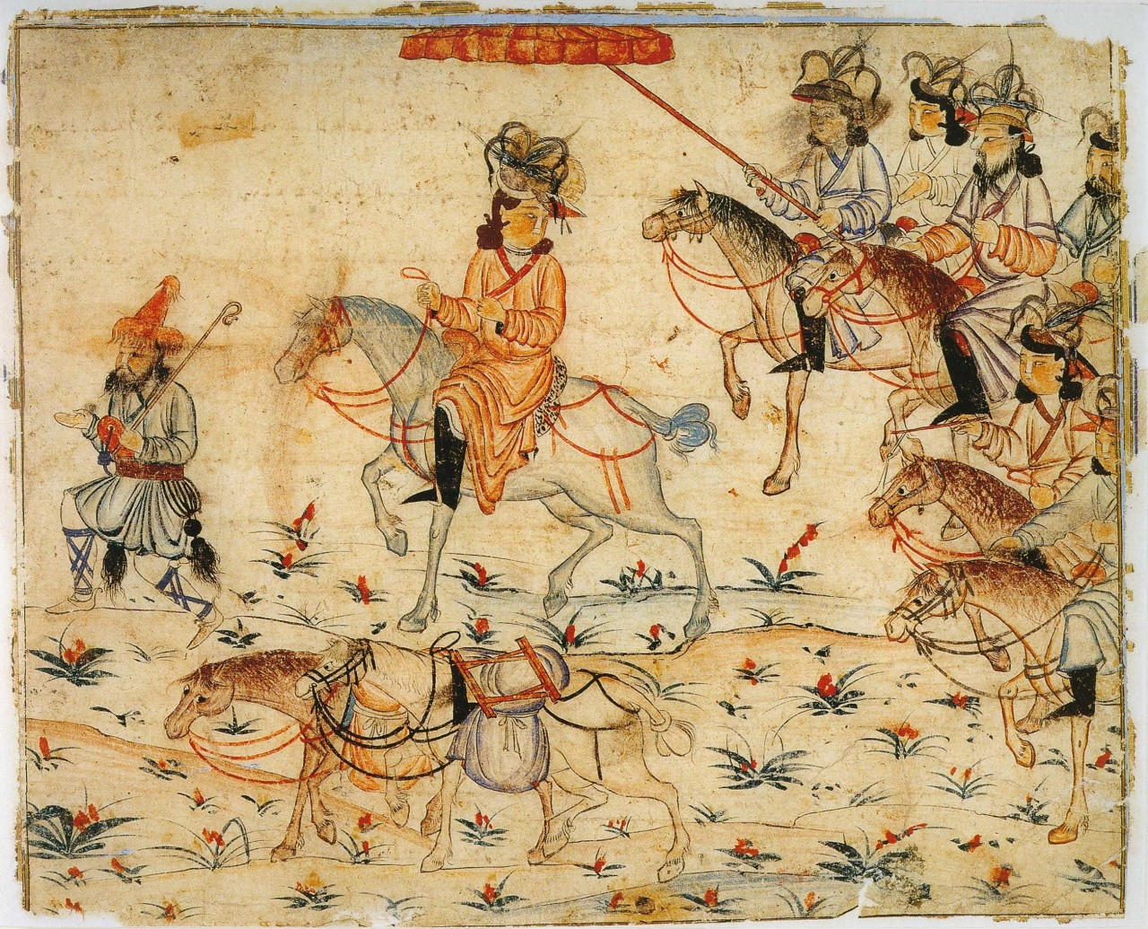 Уничтожение монголами государства исмаилитов в Иране
