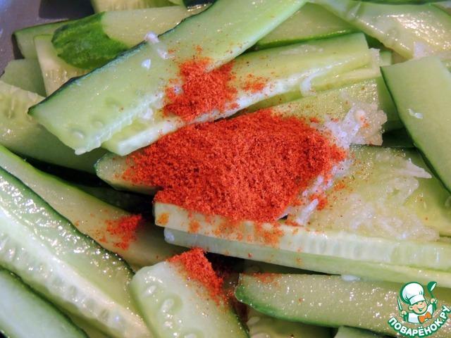 Жареные свежие огурцы рецепты