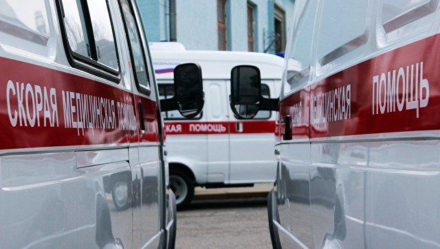 В Красноярске загорелся дом престарелых
