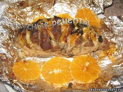 Свинина с апельсинами рецепт в мультиварке