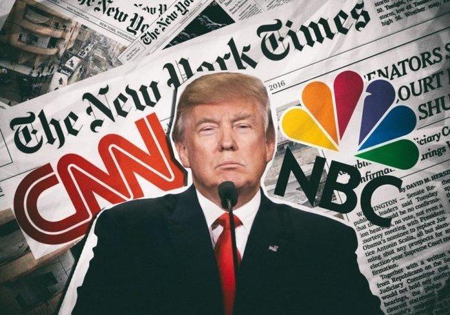 Трамп угрожает лишить лицензии у СМИ США за распространение фейков