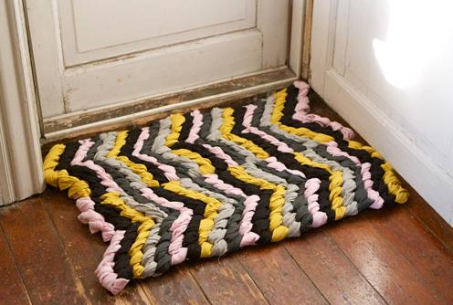 коврик из узелков своими руками мастер-класс