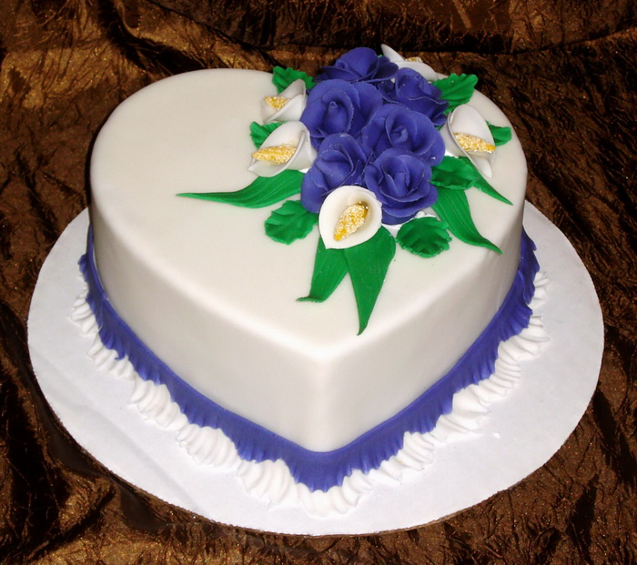 Фото тортов с цветами
