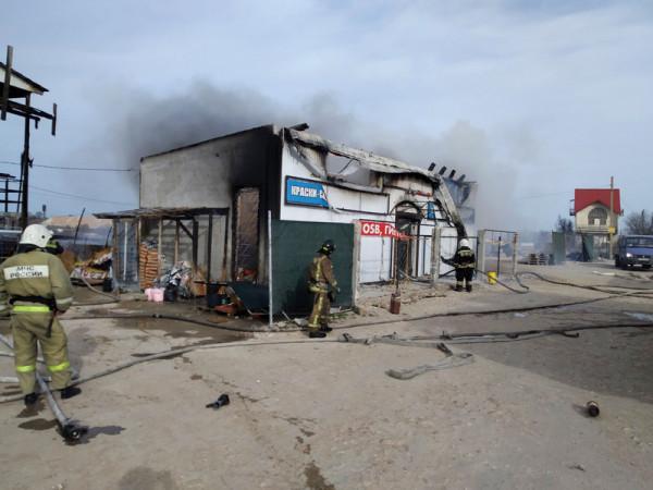 В Севастополе сгорел строите…