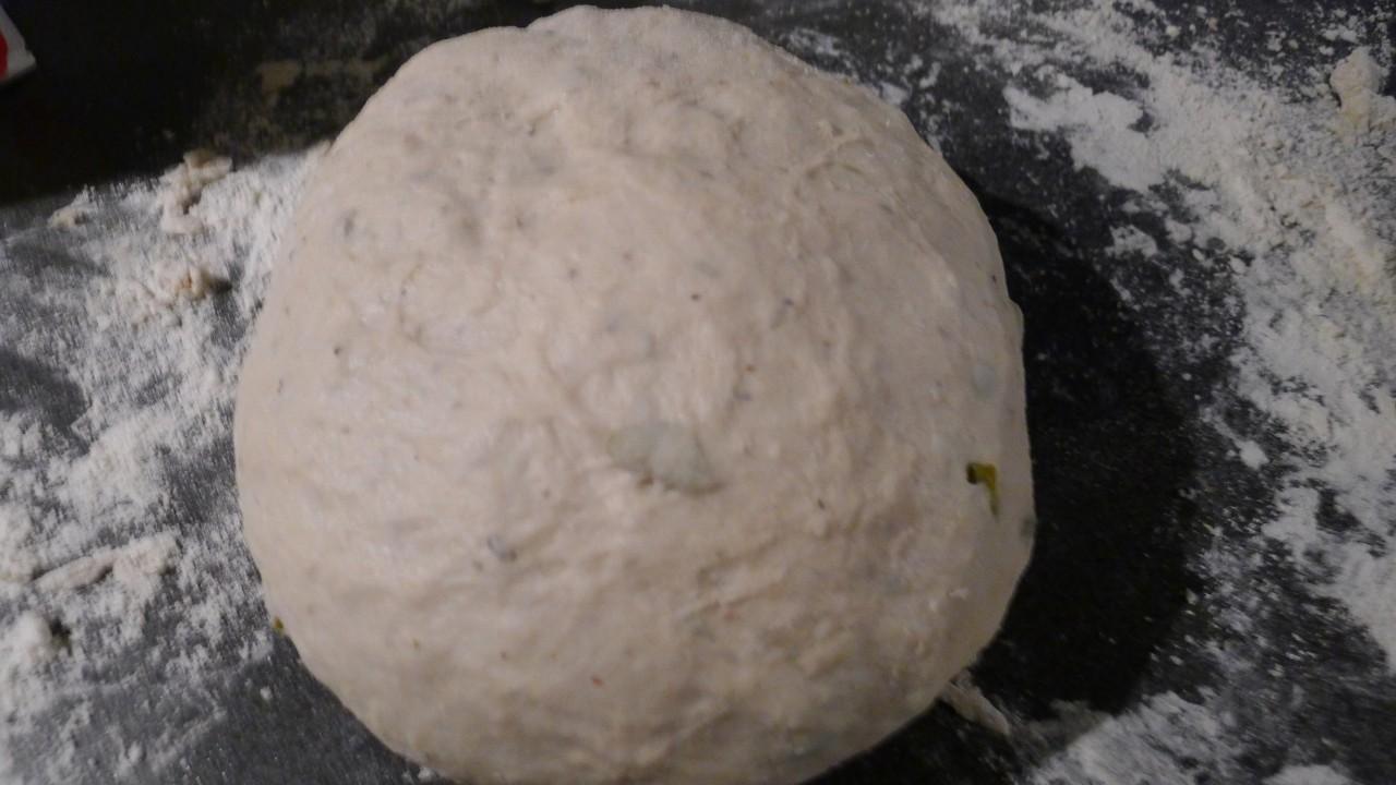 Рецепт домашнего хлеба с оливками