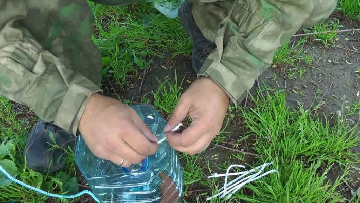 Способ наловить рыбы без специальных снастей