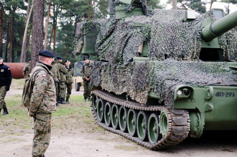 Вблизи белорусских границ может быть сосредоточена артиллерия ВС Польши