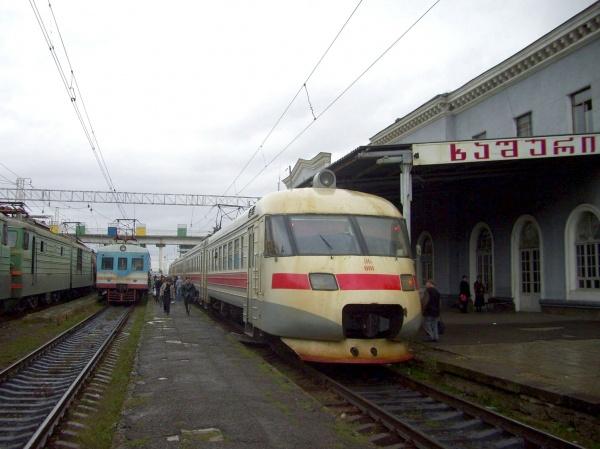 Грузоперевозки поГрузинской железной дороге с2012 года сократились на40%