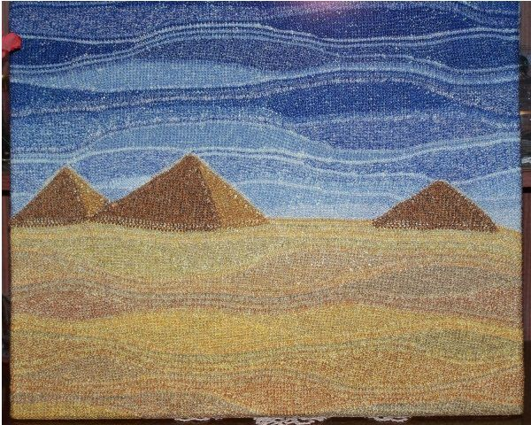 Частичное вязание — техника неограниченных возможностей