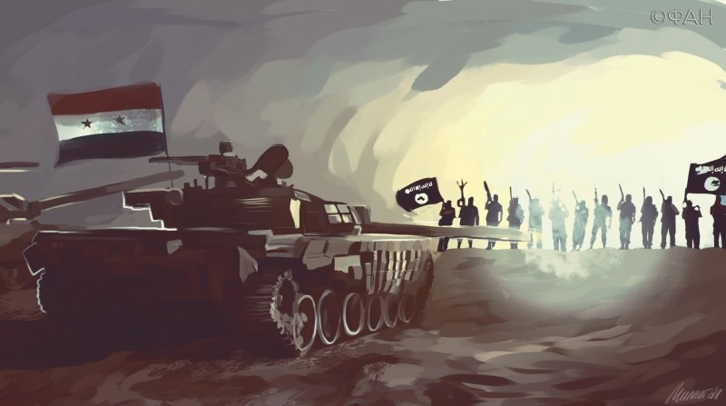 Армия Сирии отбила у ИГ газо…