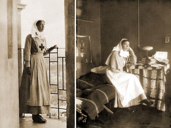 Великая княгиня в госпитале | Фото: evpatori.ru
