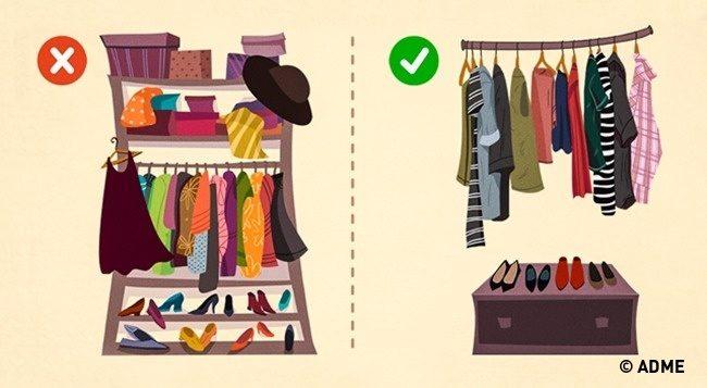 Как составить гардероб, в котором все сочетается между собой
