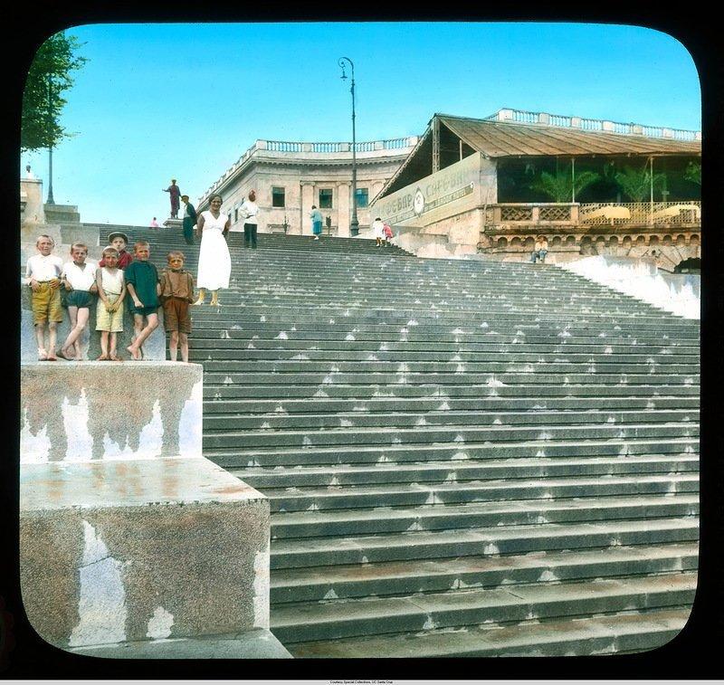 Приморская (Потёмкинская) лестница Бренсон ДеКу, кадр, люди, одесса, фото, фотограф