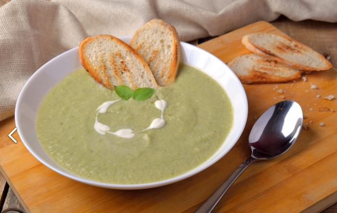 Легкий и красивый суп пюре на ужин