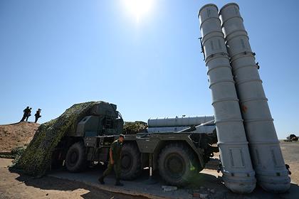 Российские С-300 в Сирии при…