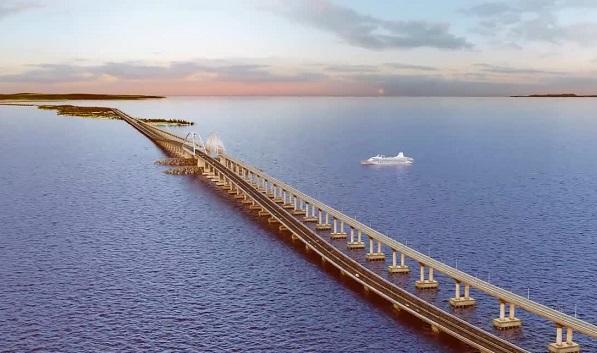 Киев: Строительство Крымского моста уменьшит прибыль украинских портов