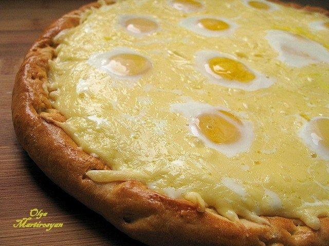Пицца «Хачапури». Когда не знаешь чем порадовать близких.