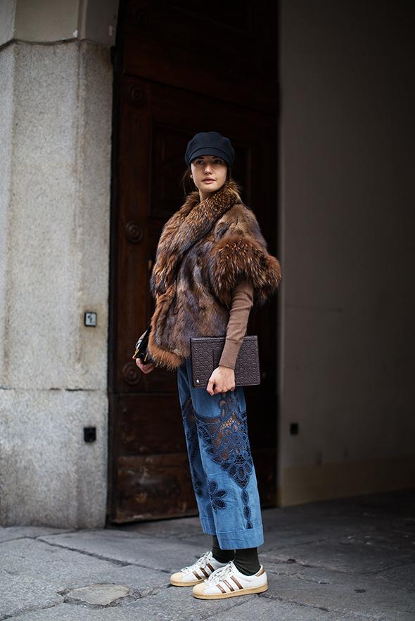 On the Street…Via Solferino, Milan
