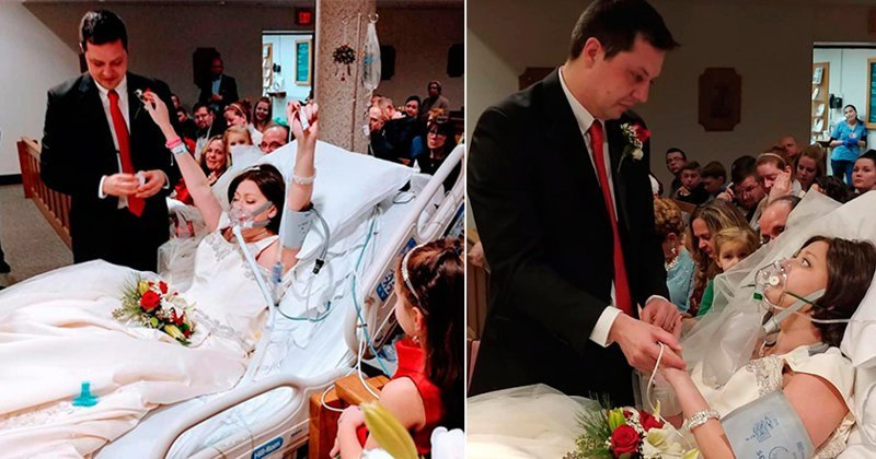 Больная раком девушка успела выйти замуж за несколько часов до смерти