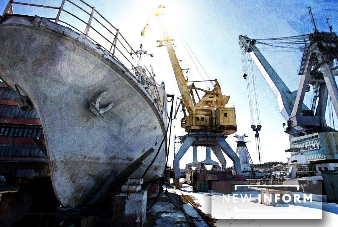 Ударное судостроение РФ: новая баржа «Трудовая» на следующем этапе создания