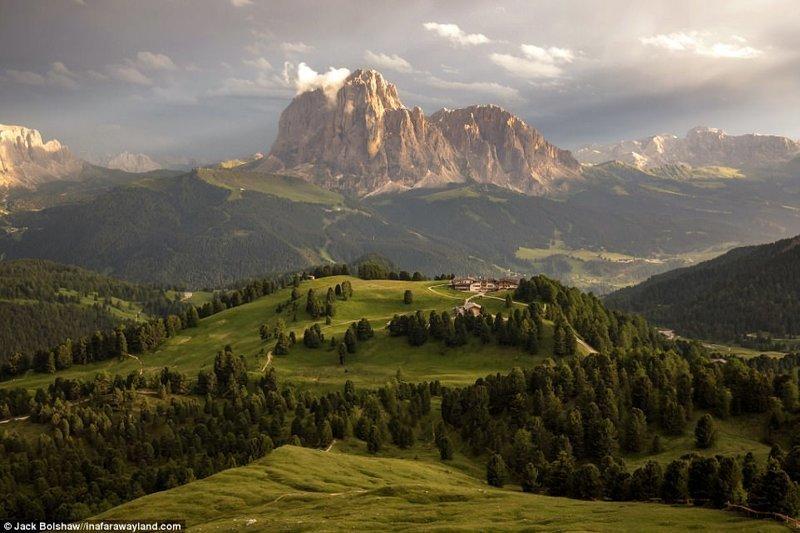 Доломитовые Альпы в Италии в мире, красивые фото, красивый вид, пейзажи, природа, путешествия, фото, фотографы