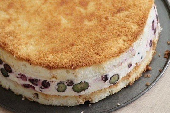 Творожный торт–суфле