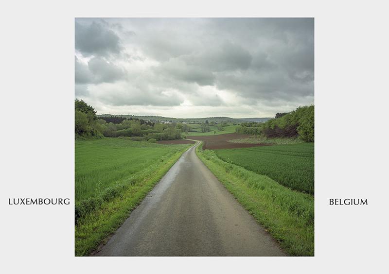 Люксембург - Бельгия граница, страна