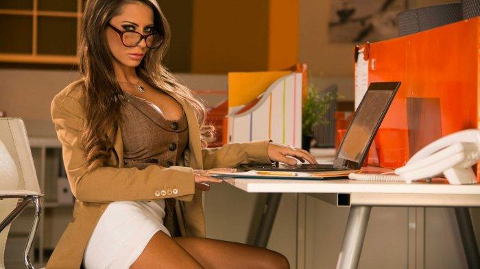 Фото секретарша в офисе 22443 фотография