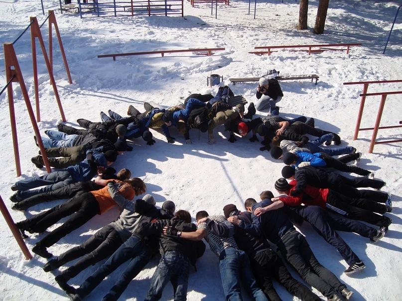 ДЕРЖИМ ФОРМУ. Тренировки зимой