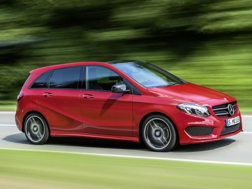 Mercedes-Benz обновил компактвэн B-класса