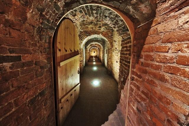 Потерна Петропавловской крепости Санкт - Петербург, подземные ходы