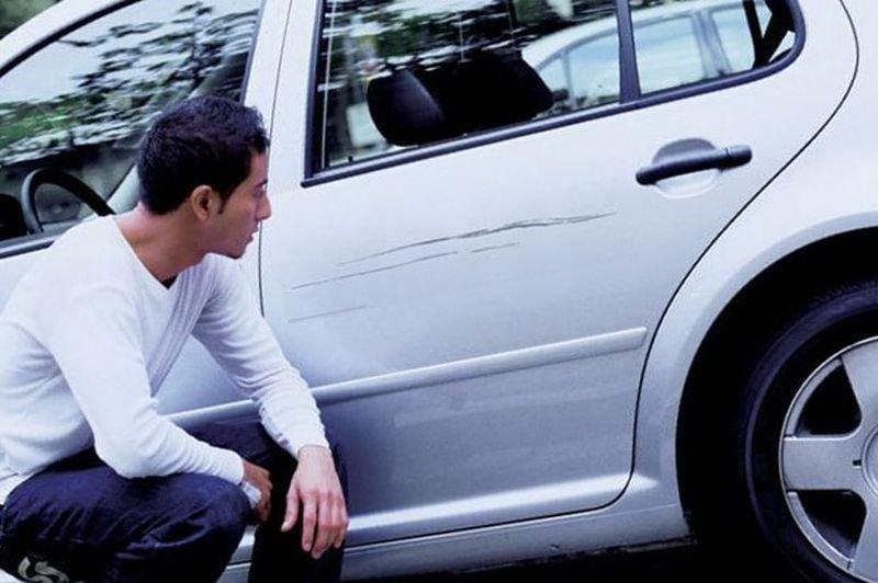 Осторожно - подставы на парковках