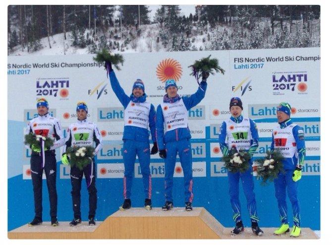 Устюгов и Крюков — чемпионы мира в командном спринте. ЗОЛОТО НАШЕ!