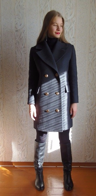 Шъём зимнее пальто, подробнейший мастер-класс
