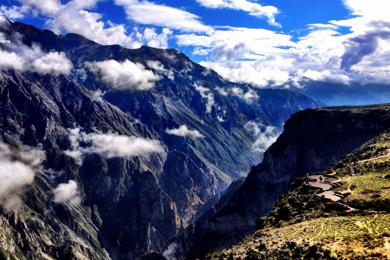 Каньон Колка: самый  глубокий каньон мира (Перу)
